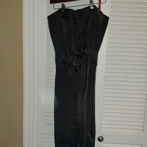 The Limited- size 10 Evening Dress Gray